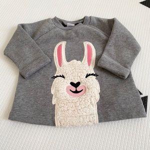 Old navy llama pullover
